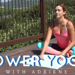 Yoga: Adriene Shows How To Do Power Yoga (Video)